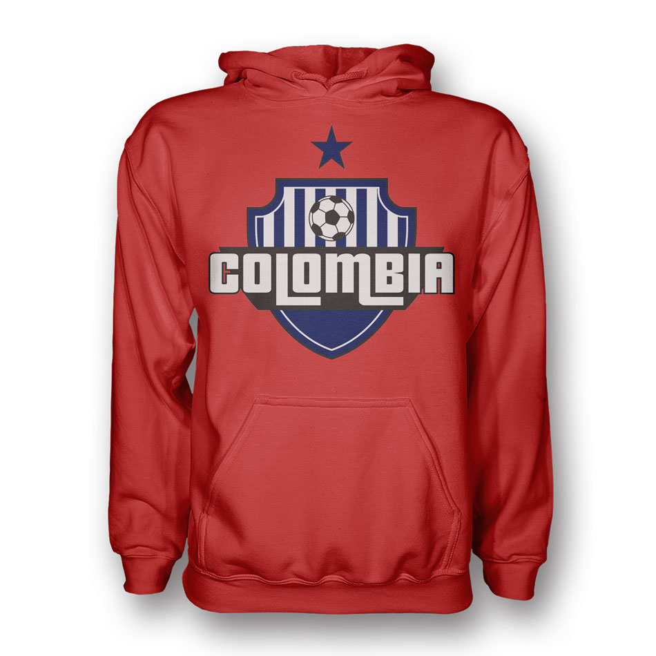 Colombia Country Logo Hoody (red) - Kids