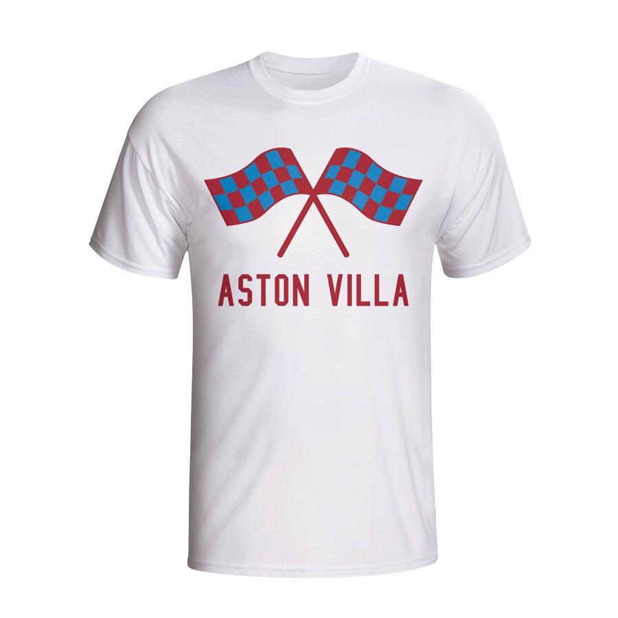 Aston Villa Waving Flags T-shirt (white)