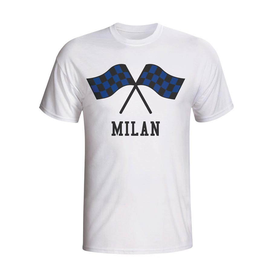Inter Milan Waving Flags T-shirt (white)