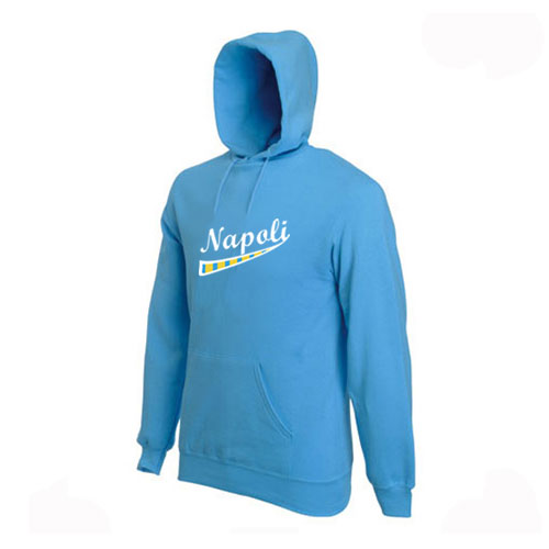 Napoli Supporters Hoody (Light Blue)