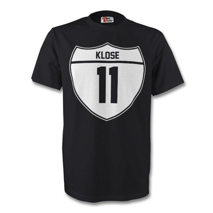 Miroslav Klose Germany Crest Tee (black)