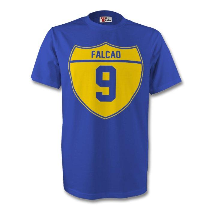 Radamel Falcao Colombia Crest Tee (blue)