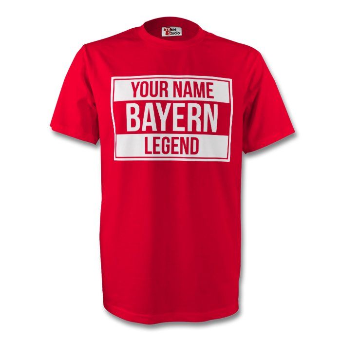 Your Name Bayern Munich Legend Tee (red)