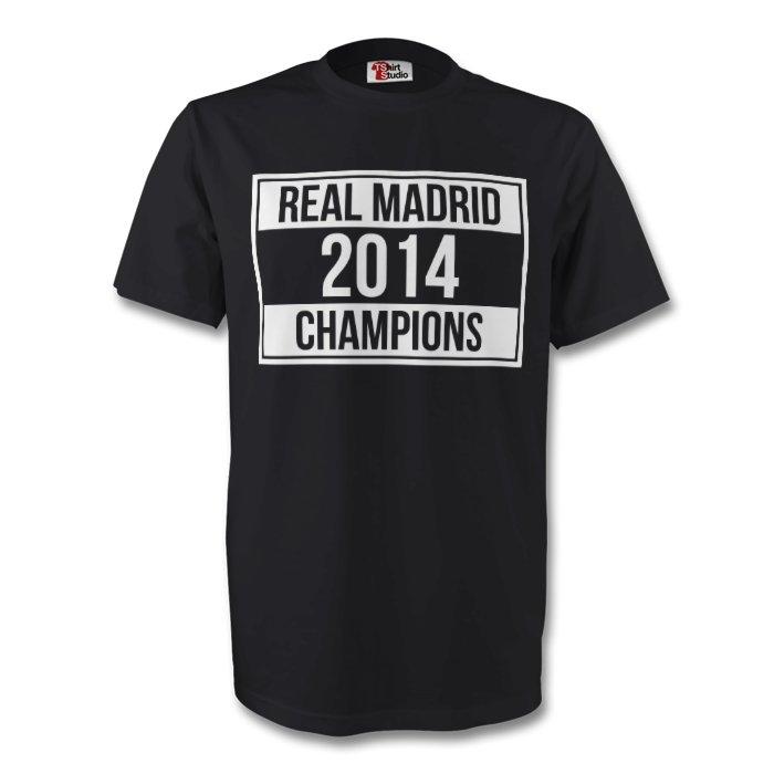 Real Madrid 2014 Champions Tee (black)