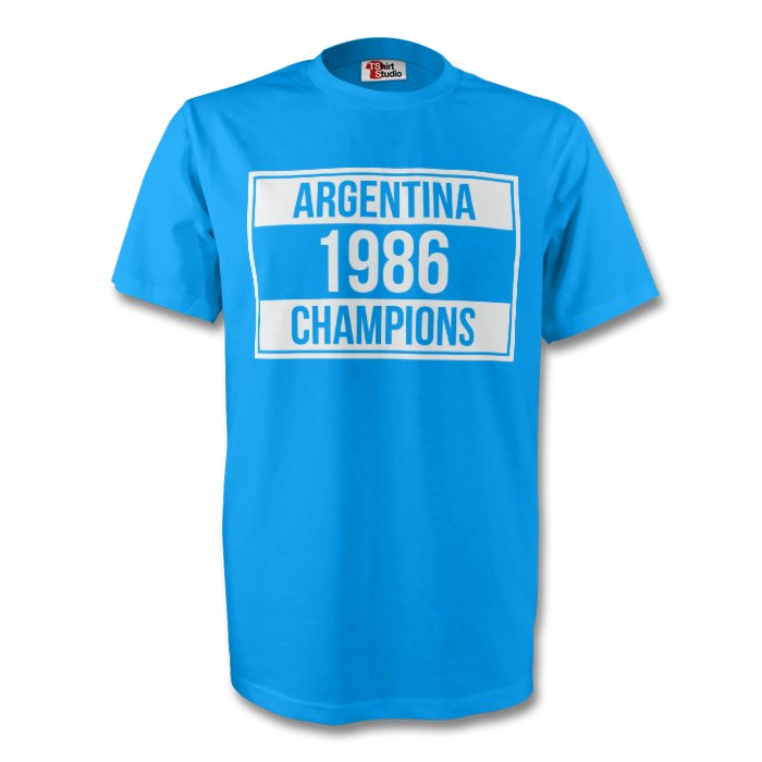 1986 Champions Tee (sky Blue) - Kids
