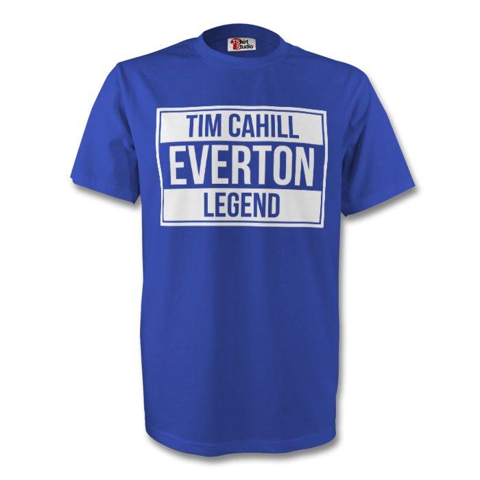 Tim Cahill Everton Legend Tee (blue) - Kids