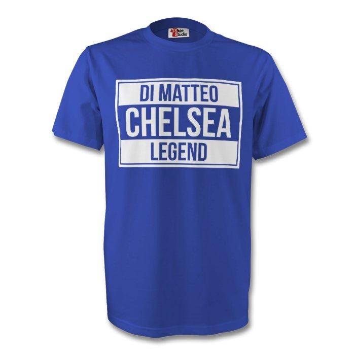 Roberto Di Matteo Chelsea Legend Tee (blue)