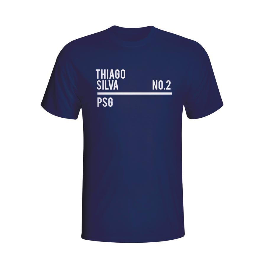 Thiago Silva Psg Squad T-shirt (navy) - Kids