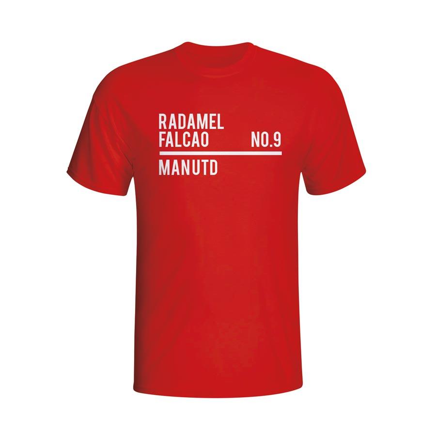 Radamel Falcao Man Utd Squad T-shirt (red) - Kids
