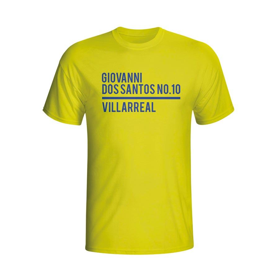 Giovanni Dos Santos Villarreal Squad T-shirt (yellow)