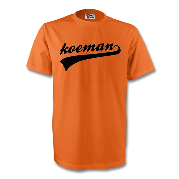 Ronald Koeman Holland Signature Tee (orange) - Kids