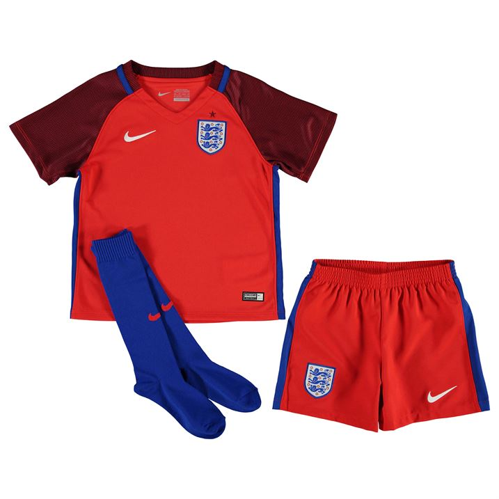 England's kits for the World Cup were inspired by English football history and culture revealing designs which are classic and simple. The new home shirt features a plain white base with engineered pinstripes in the fabric along with white satin tape on the shoulders which give the shirt a distinctive shine.