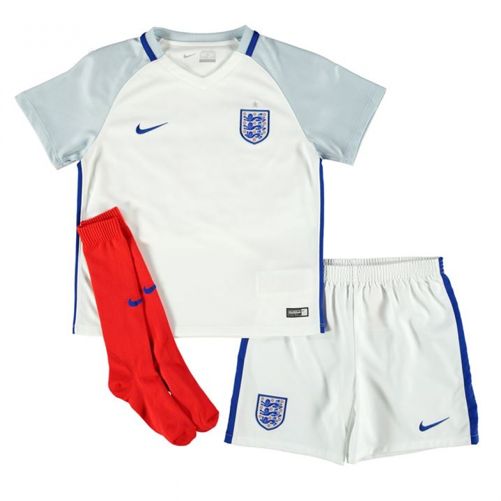 2016-2017 England Home Nike Mini Kit