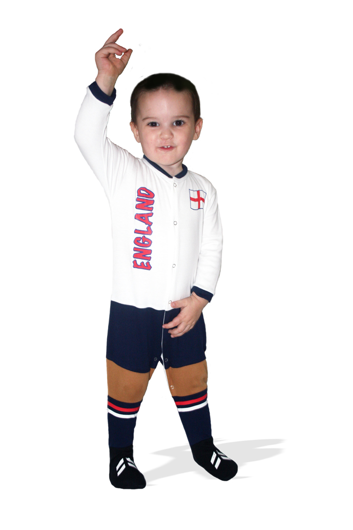 England Football Baby Suit