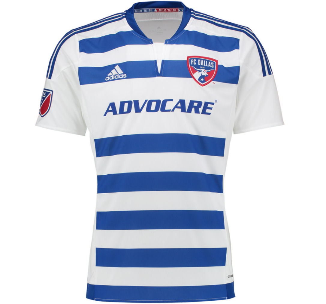 2016 FC Dallas Adidas Away Football Shirt