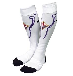 2012-13 Fiorentina Joma Away Football Socks