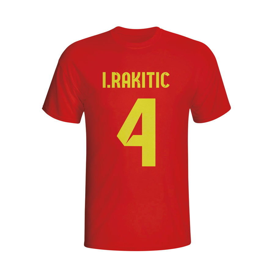 Ivan Rakitic Barcelona Hero T-shirt (red) - Kids