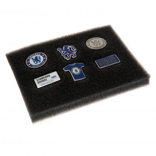 Chelsea F.C. 6 Piece Badge Set