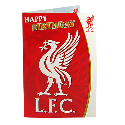 Liverpool F.C. Musical Birthday Card LB