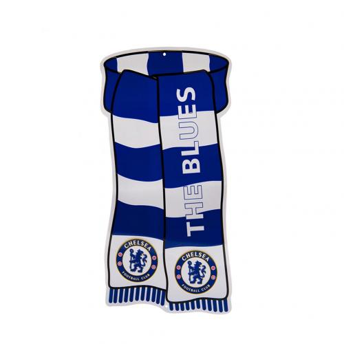 Chelsea F.C. Show Your Colours Window Sign