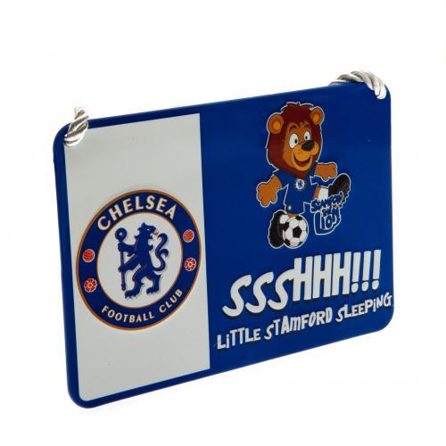 Chelsea F.C. Bedroom Sign Mascot