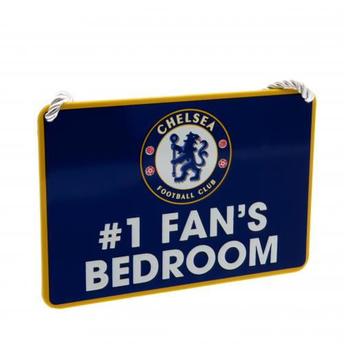 Chelsea F.C. Bedroom Sign No1 Fan