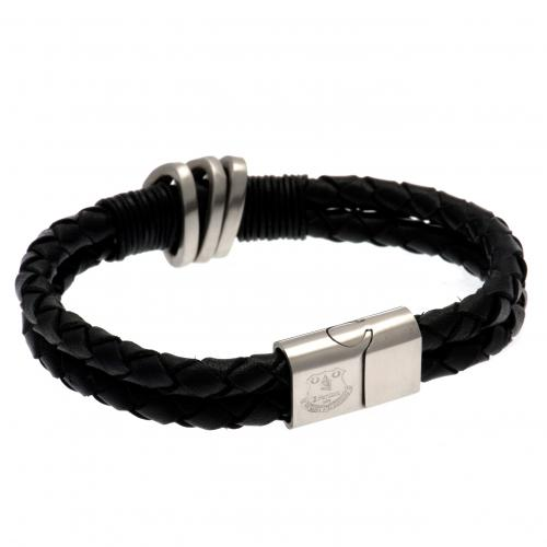 Everton F.C. Leather Bracelet
