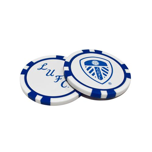 Leeds United F.C. Poker Chip Ball Markers