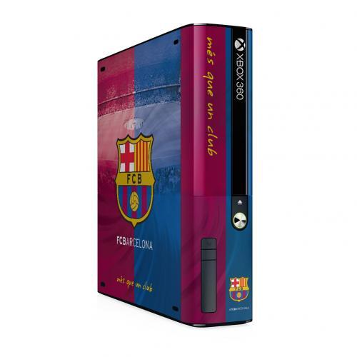 F.C. Barcelona Xbox 360 E GO Console Skin