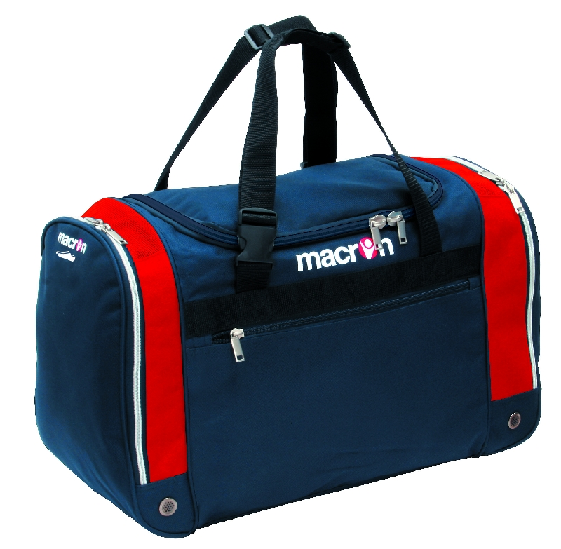 Macron Trio Players Bag (navy-red) - Large
