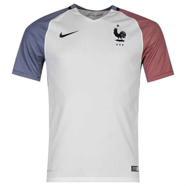 2016-2017 France Away Nike Football Shirt (Kids)
