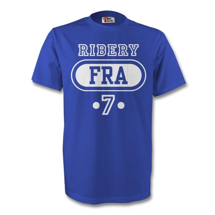 Franck Ribery France Fra T-shirt (blue) - Kids