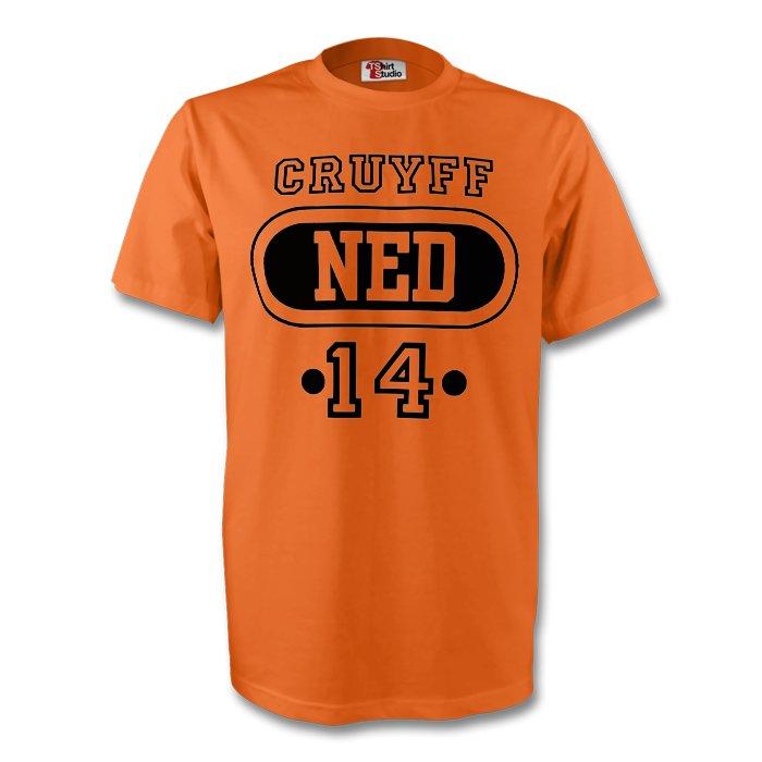 Johan Cruyff Holland Ned T-shirt (orange) - Kids