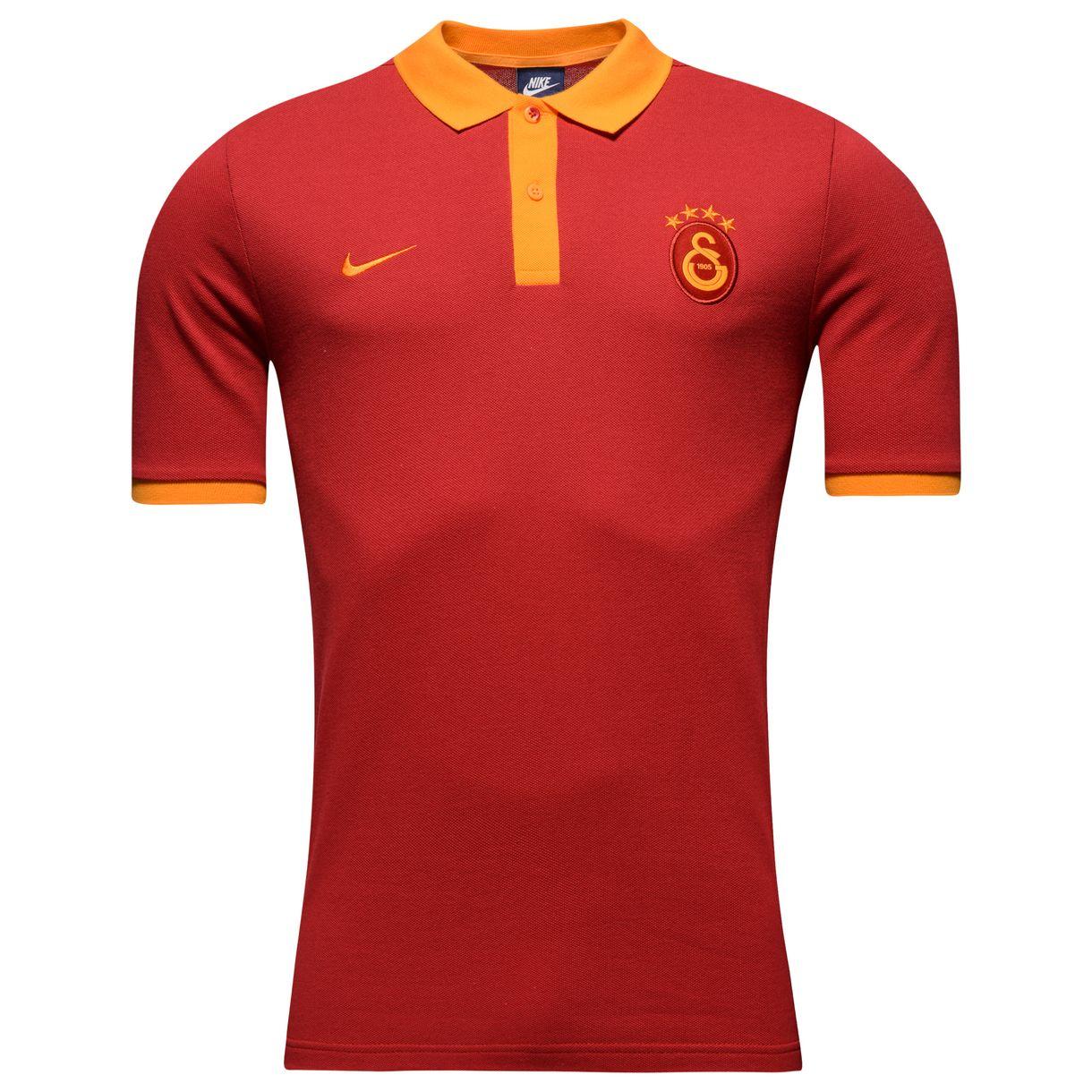 2016-2017 Galatasaray Nike Core Polo Shirt (Pepper Red)