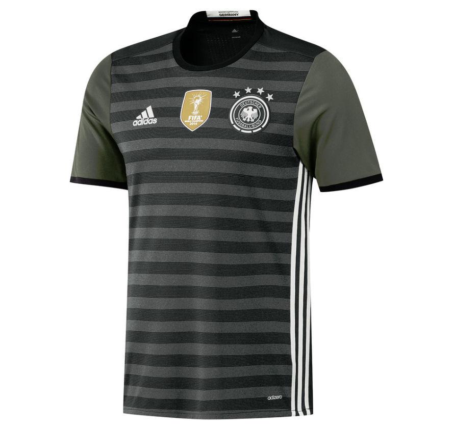 2016-2017 Germany Authentic Away Adidas Football Shirt