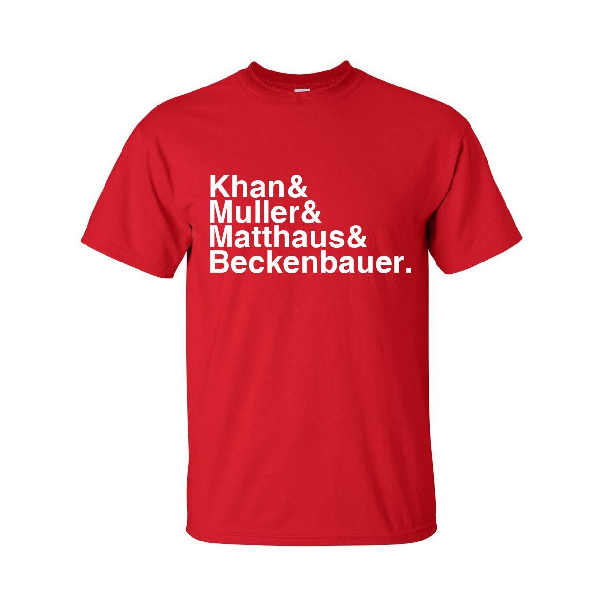 Bayern Munich Football Legends T-shirt (red)