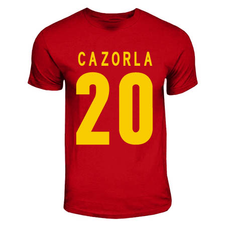 Santi Cazorla Spain Hero T-shirt (red)