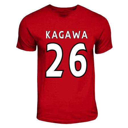 Shinji Kagawa Manchester United Hero T-shirt (red)