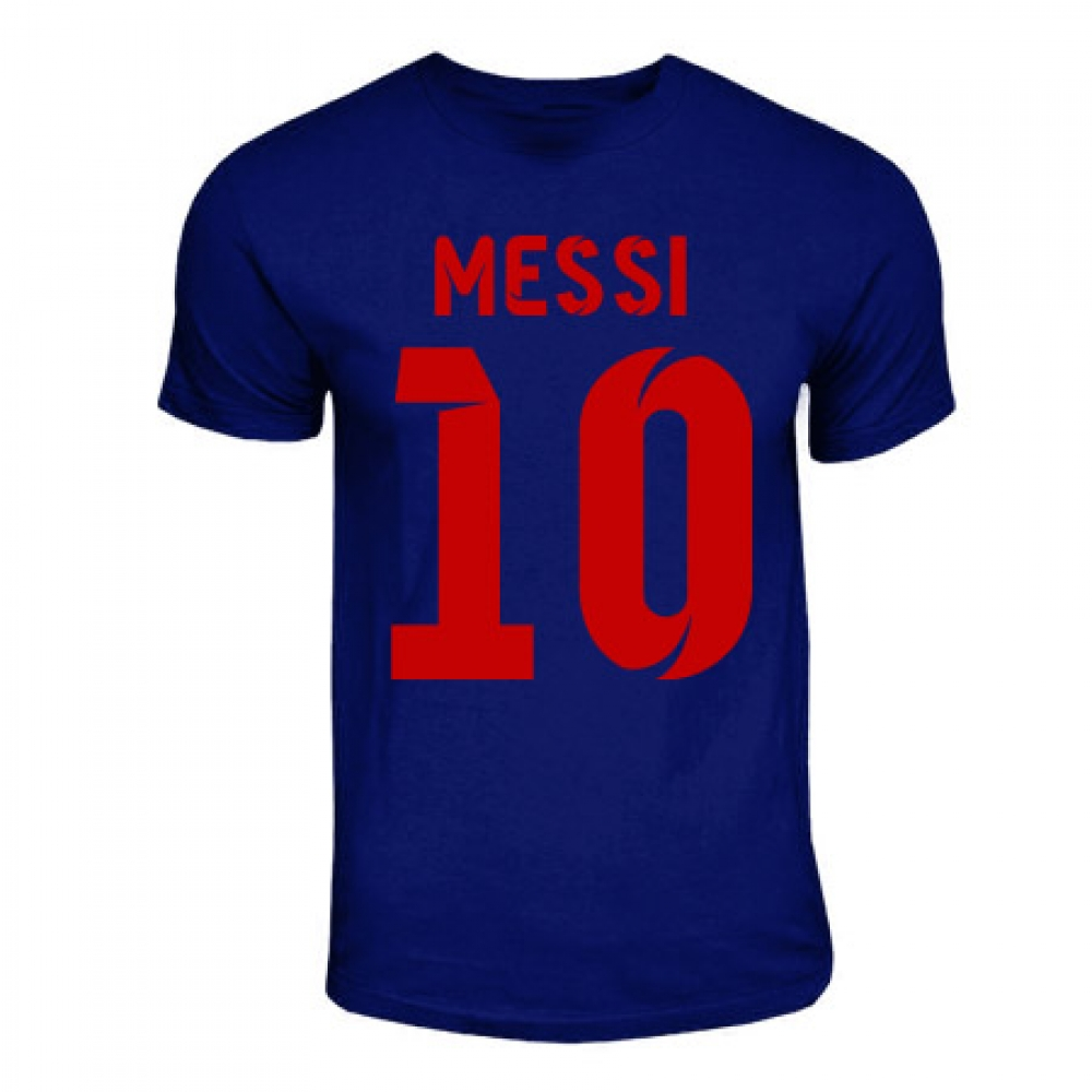 Lionel Messi Barcelona Hero T-shirt (navy)