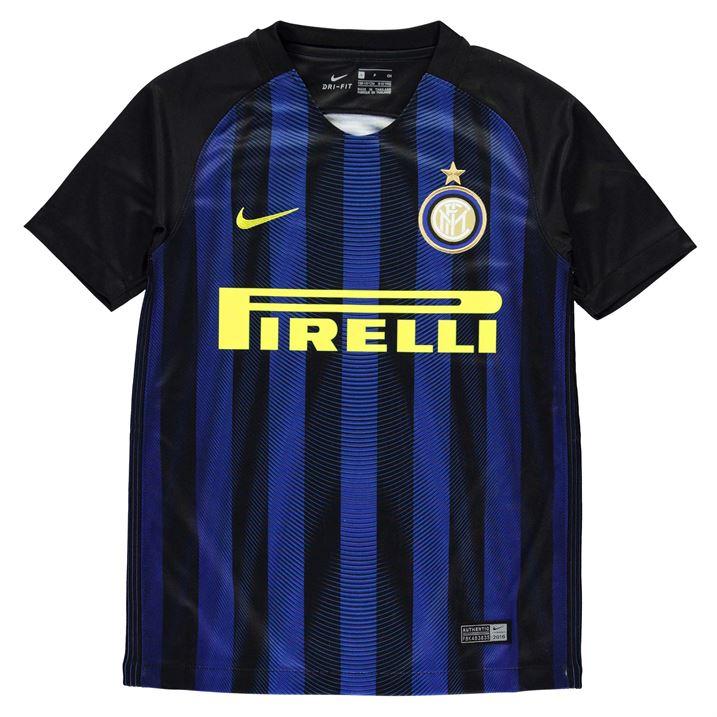 2016-2017 Inter Milan Home Nike Football Shirt (Kids)