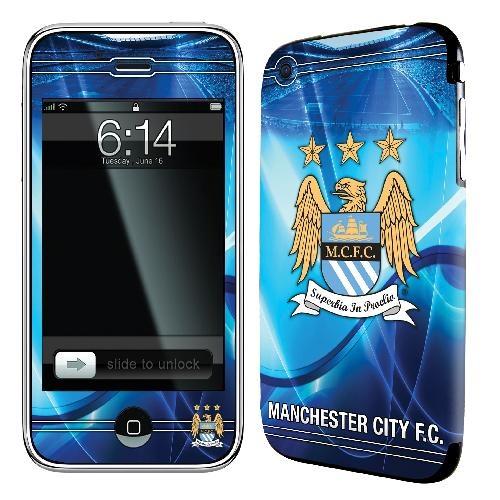 Official Man City iPhone 3G Skin