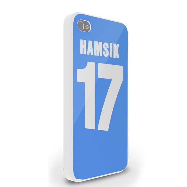Marek Hamsik Iphone 4 Cover (sky Blue)