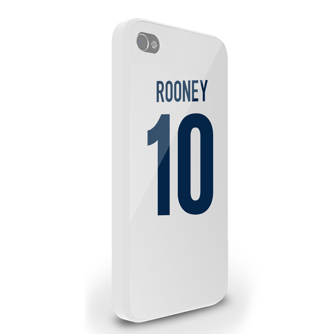 Wayne Rooney England Iphone 5 Cover (white)