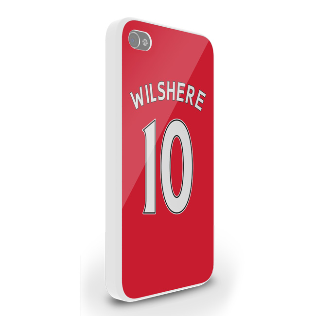 Jack Wilshere Arsenal Iphone 4 Cover (red)