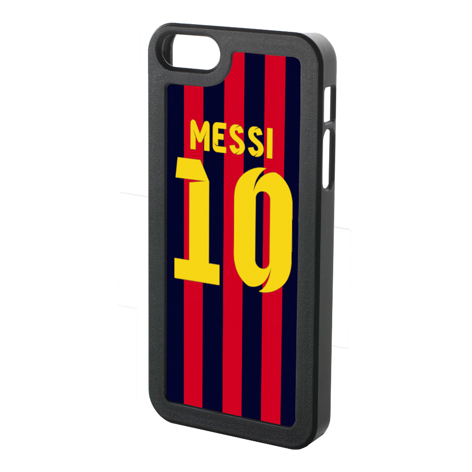 Lionel Messi Iphone 4 Cover (red-blue-yellow)