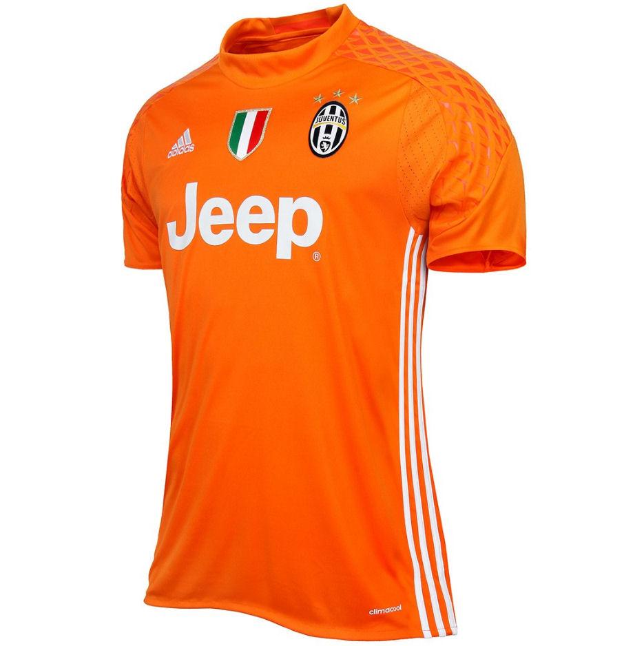2016-2017 Juventus Home Adidas Goalkeeper Shirt
