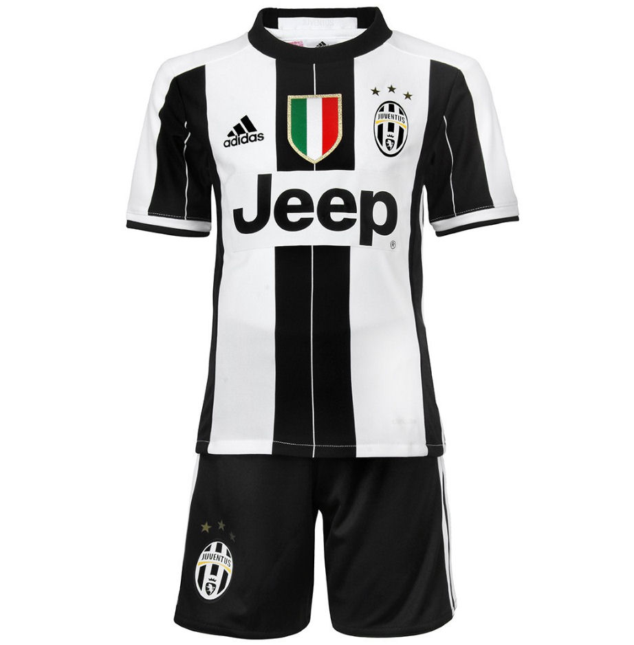 2016-2017 Juventus Adidas Home Mini Kit