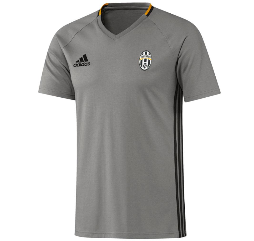 2016-2017 Juventus Adidas Training Tee (Grey) - Kids