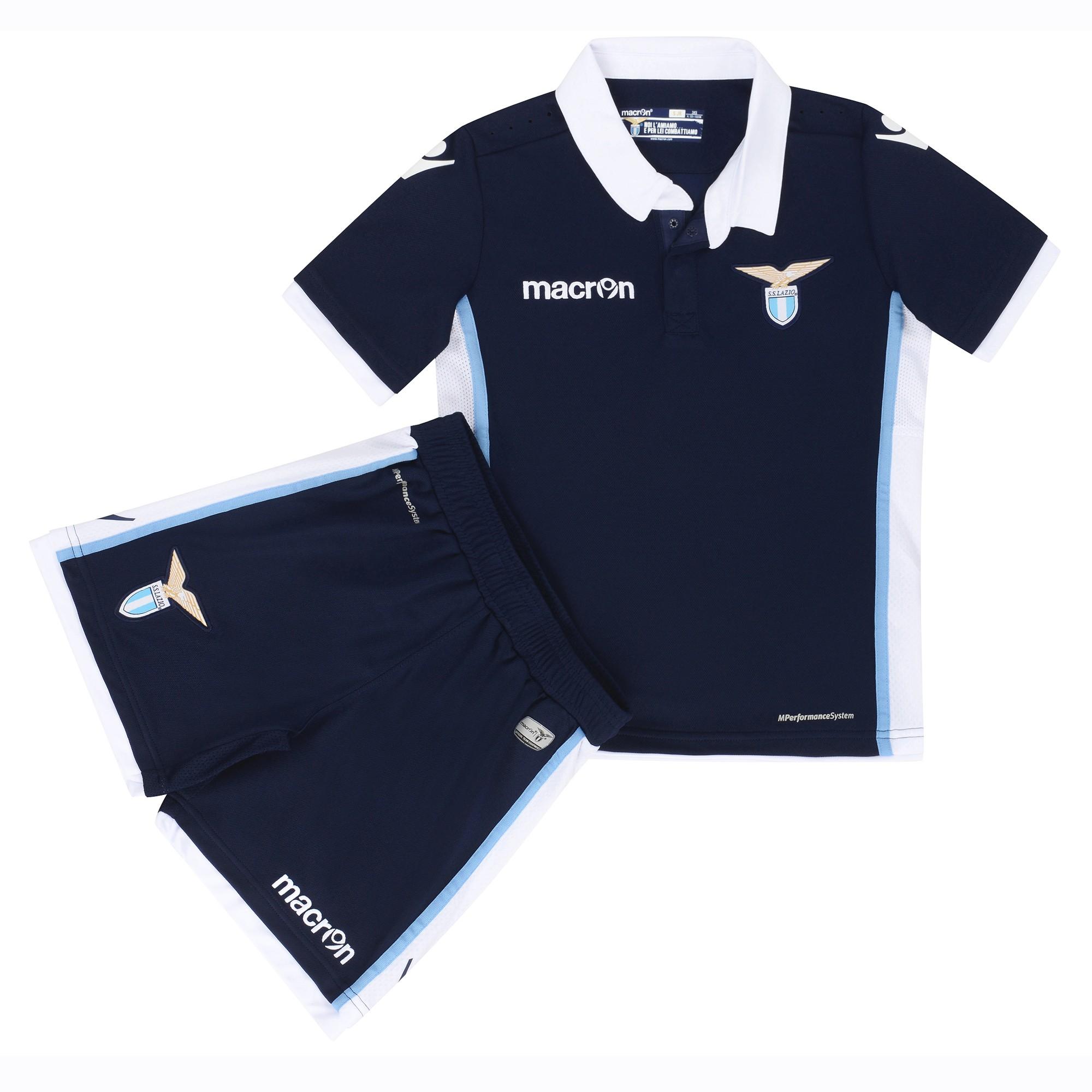 2016-2017 Lazio Away Macron Mini Kit