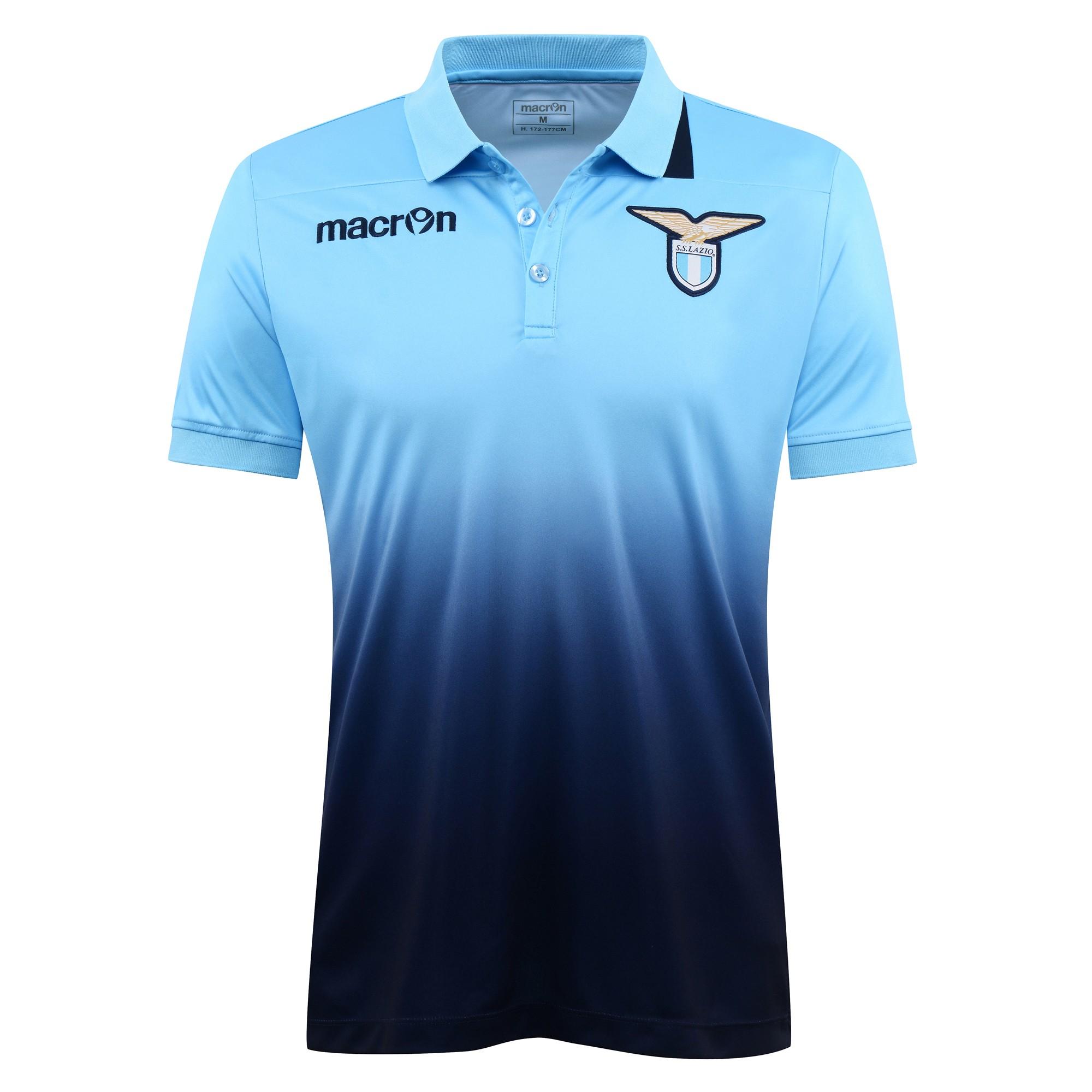 2016-2017 Lazio Pre-Match Polo Shirt (Blue)